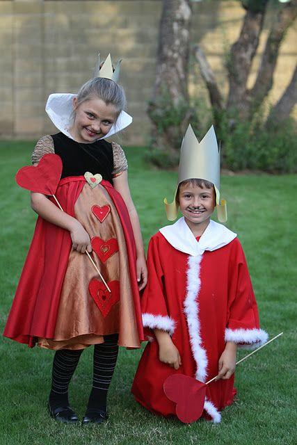 Wonderland Costume: The Queen & King of Hearts