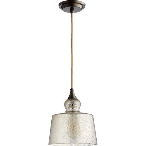 Quorum International Filament Oiled Bronze 8.5-Inch One-Light Pendant with Silver Mercury Glass | Mercury glass Mercury and Pendants  sc 1 st  Pinterest & Quorum International Filament Oiled Bronze 8.5-Inch One-Light ... azcodes.com