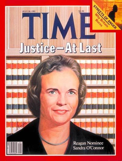Sandra Day O Connor Quotes Prepossessing Sandra Day O'connor The First Women On The Supreme Court Is Sworn