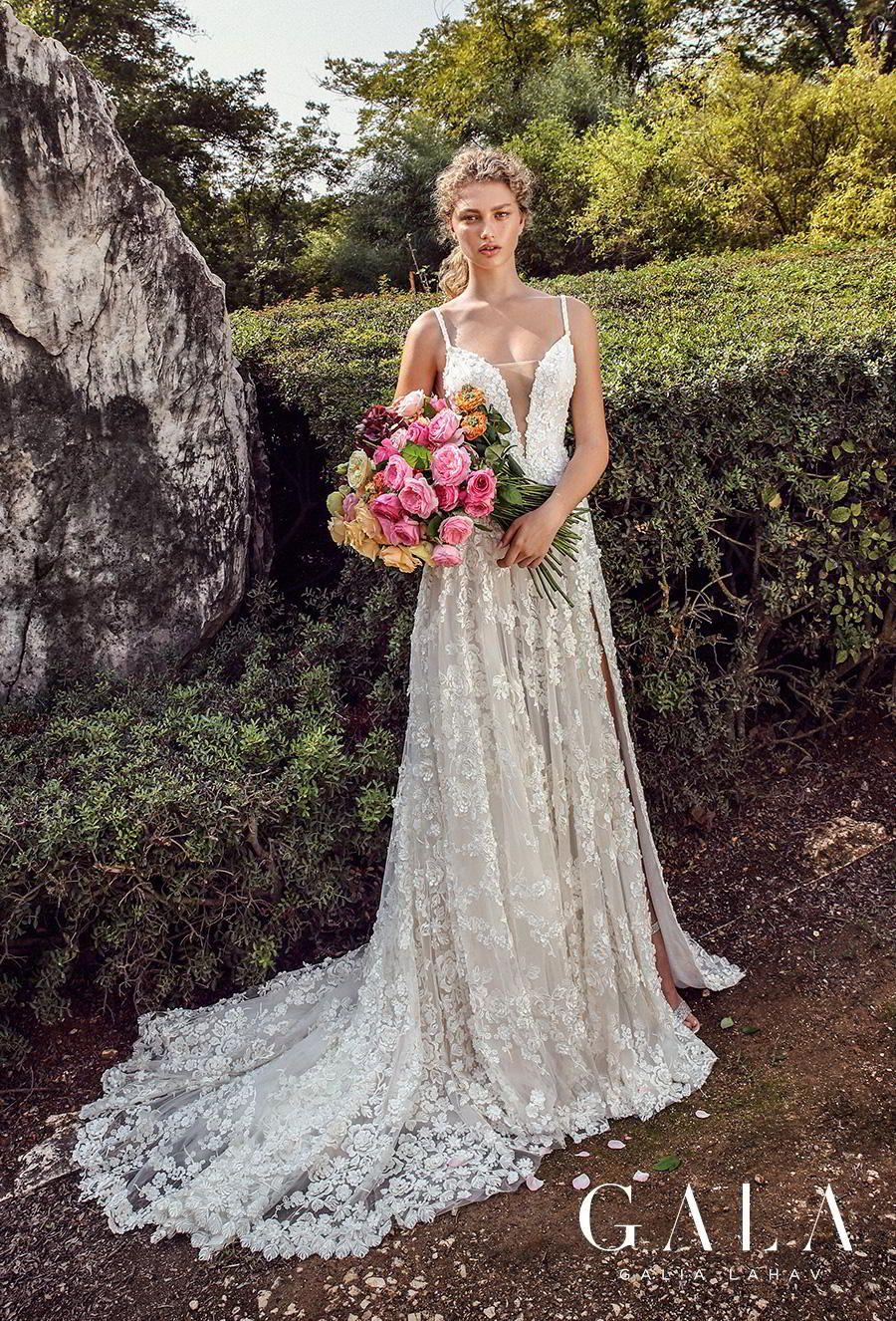galia lahav gala fall 2019 bridal sleeveless spaghetti