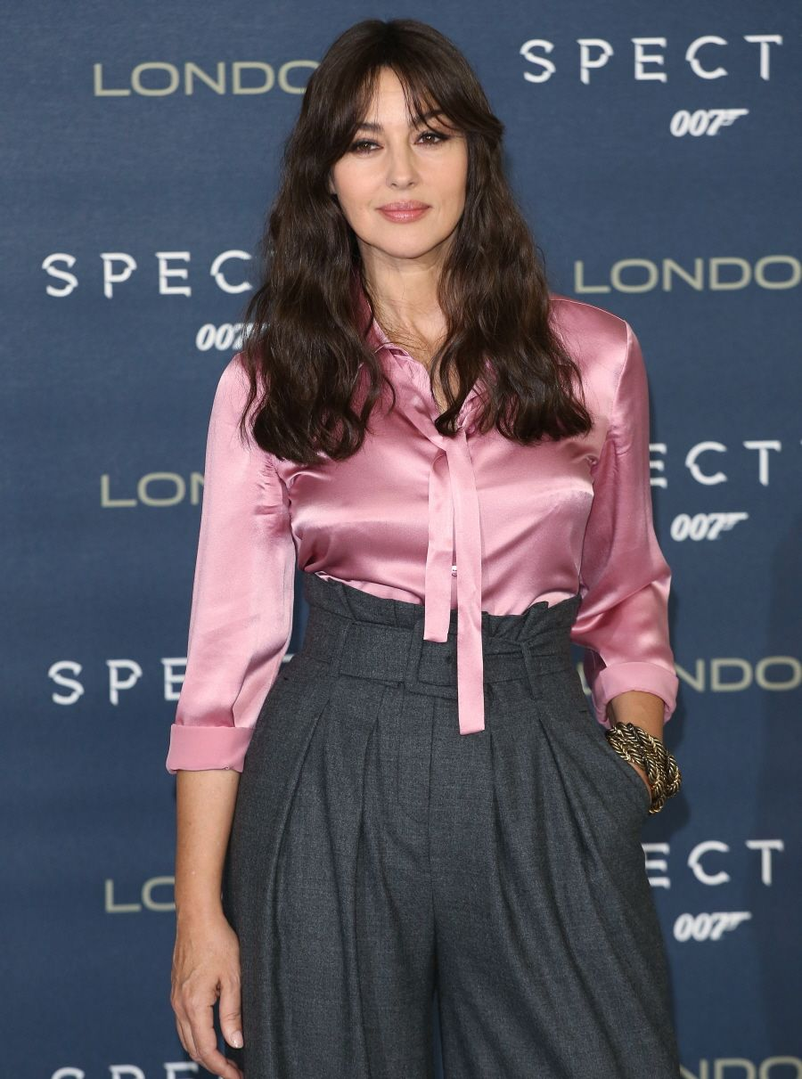 Monica Belluci at the London photocall for Spectre, October ...