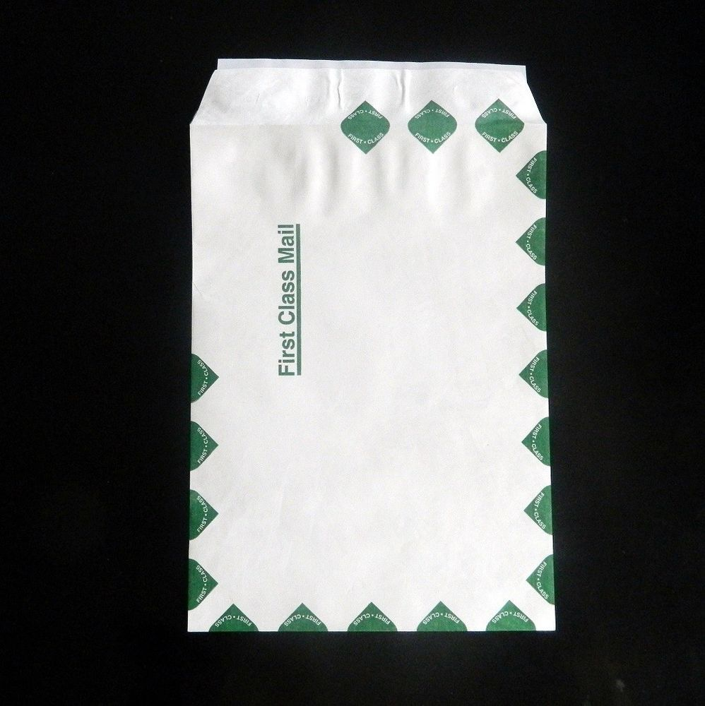 First class border bulk tyvek envelopes 9 x 12 500lot 11lb malvernweather Images