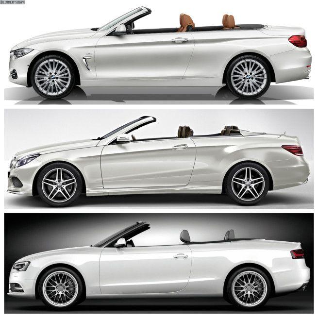 Bmw 4 Series Convertible Vs Mercedes Benz E Class Vs Audi A5 Convertible Audi A5 Convertible Audi A5 Bmw