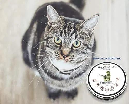 Pet Scape Organic Cat Flea Collar 2 Collars 100 Flea
