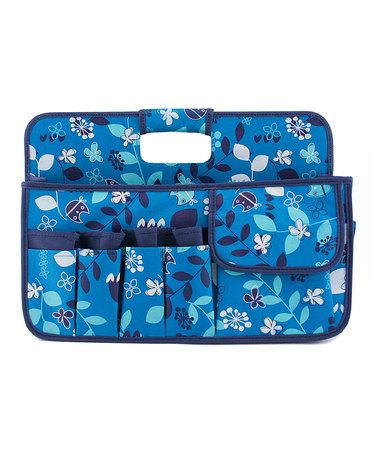 Take a look at this Turquoise Owls Carryall Caddy by Neatnix on #zulily today! $24 !!
