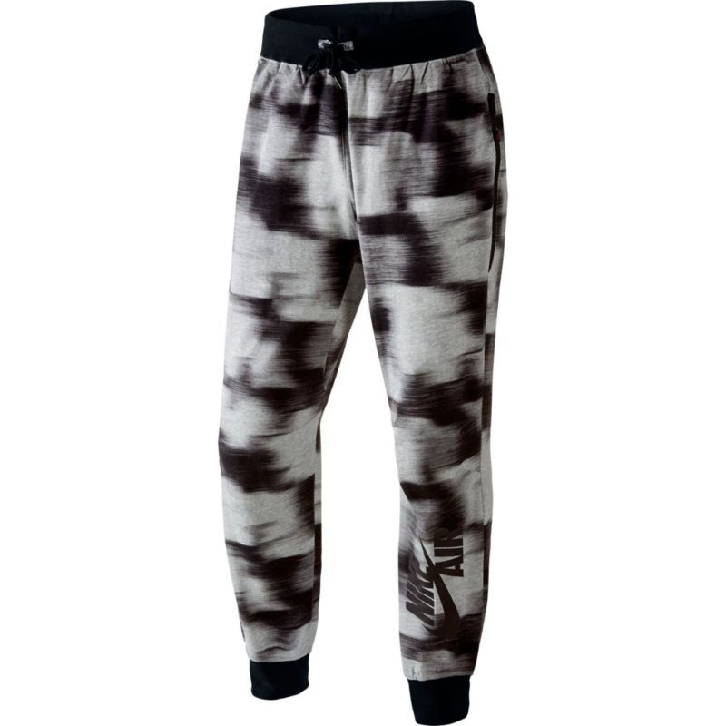 Good-Looking Men Heather Nike Nike Air Pivot V3 All Over Jogger Grey Print
