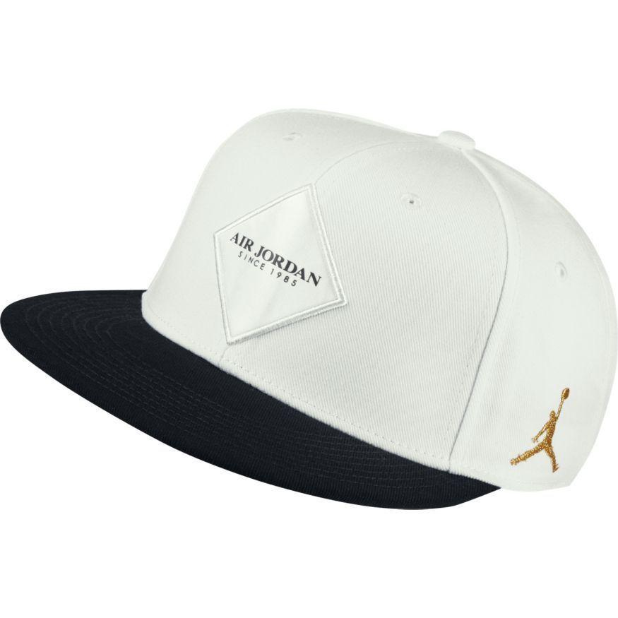 official photos b9ebf 834bb Men Air Jordan Jumpman True Aj9 Snapback Adjustable Hat White  Z 894672-121