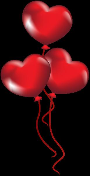 Heart Balloons Transparent Png Clip Art Heart Balloons Balloons Valentines Art