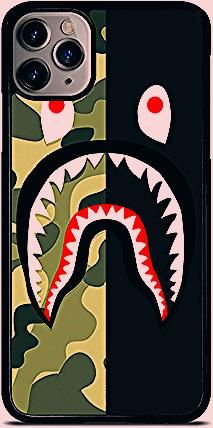 Photo of New BAPE CAMO SHARK For iPhone Samsung Print On Cover Phone Cases
