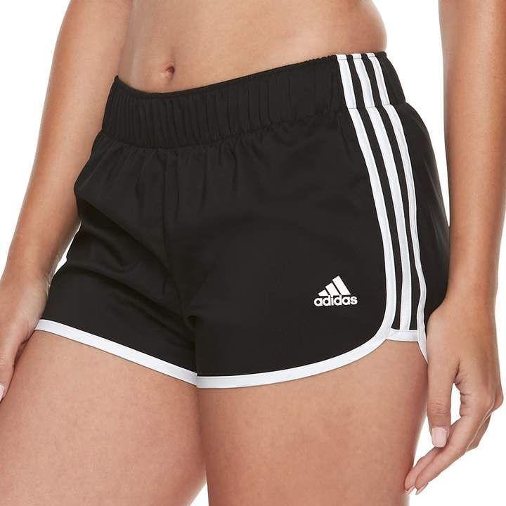 Adidas M10 Icon Midrise Running Shorts für Damen