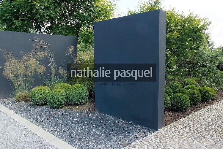 Jardin contemporain. Jardin du Perdrier. Paysagiste Jean-Charles ...