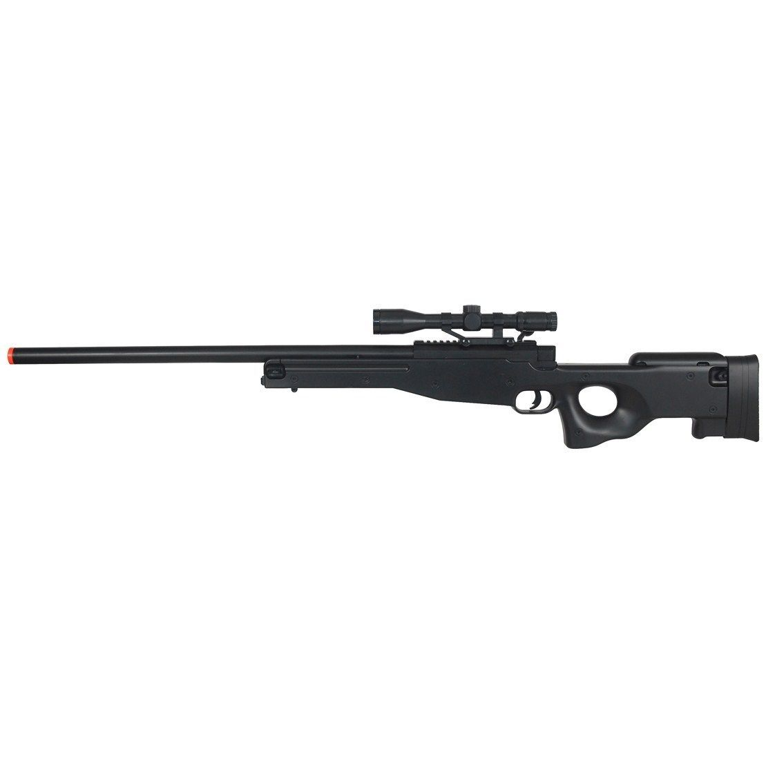 CYMA ZM52 L96 AWP SPRING AIRSOFT BOLT ACTION SNIPER RIFLE RED DOT ...