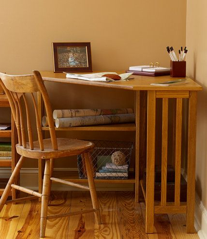 Mission Corner Desk: Mission At L.L.Bean