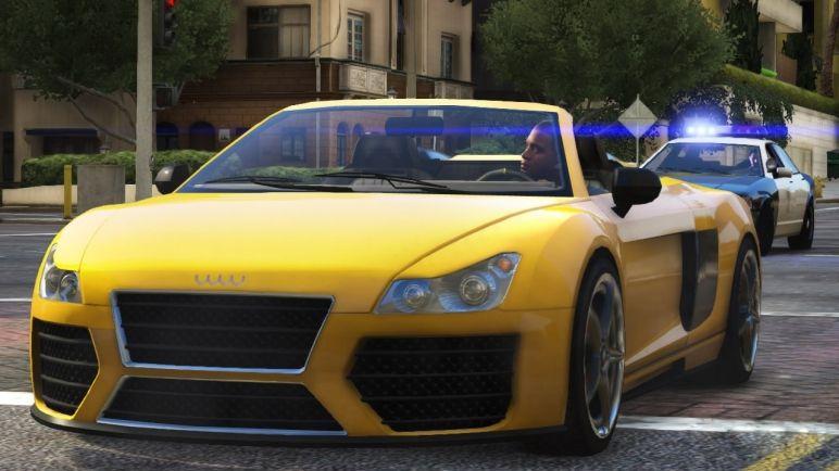 GTA Cars Special Meet The Best Cars Of Grand Theft Auto V - Audi car gta 5