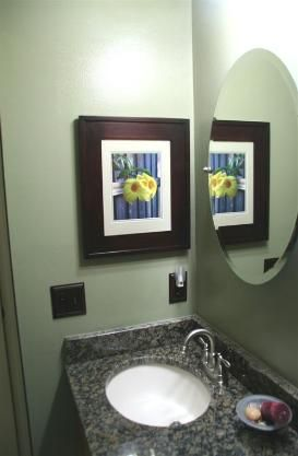 Awesome The Concealed Cabinet   A Recessed, Mirrorless Medicine Cabinet Hidden  Behind A Picture Frame Door. Good Idea For Our Bathroom That Is Just Like  This, ...