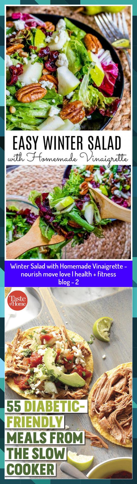 Winter Salad with Homemade Vinaigrette - nourish move love | health + fitness blog - 2 #blog #fitnes...