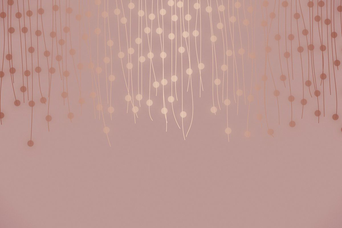 Rose Gold Lights Gold Wallpaper Background Rose Gold Lights Rose Gold Aesthetic