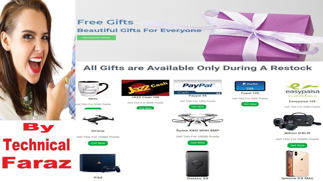 How to get free product 100 free mobile and cameral jazz