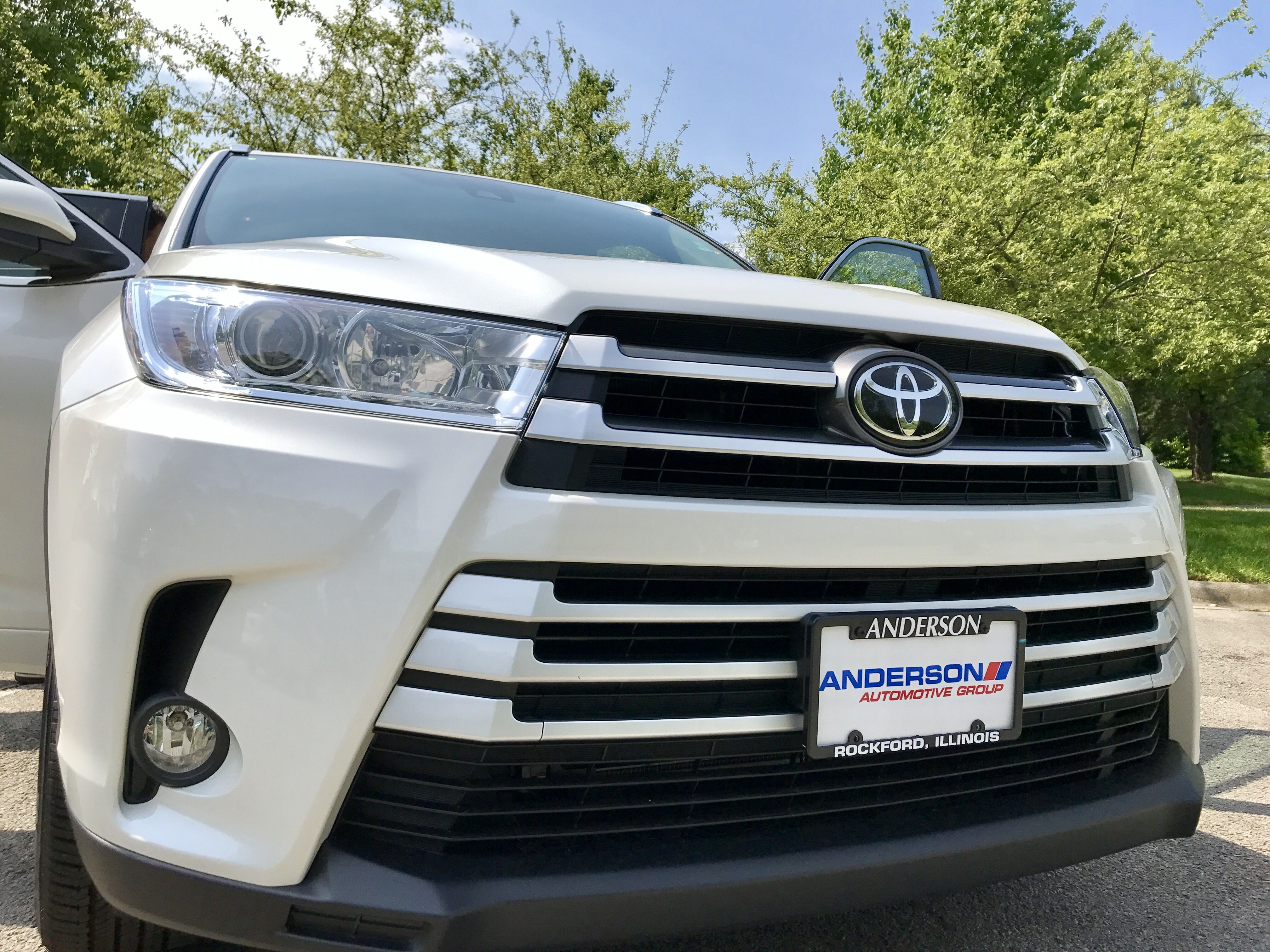 Toyota Highlander Grille 2017 Anderson Toyota Rockford Illinois