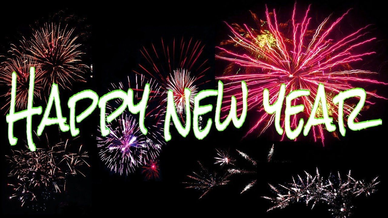 Happy New Year 2019 Wishes Whatsapp Video Greetings Quotes Firework Happy New Year Wallpaper Happy New Year Greetings New Year Greetings
