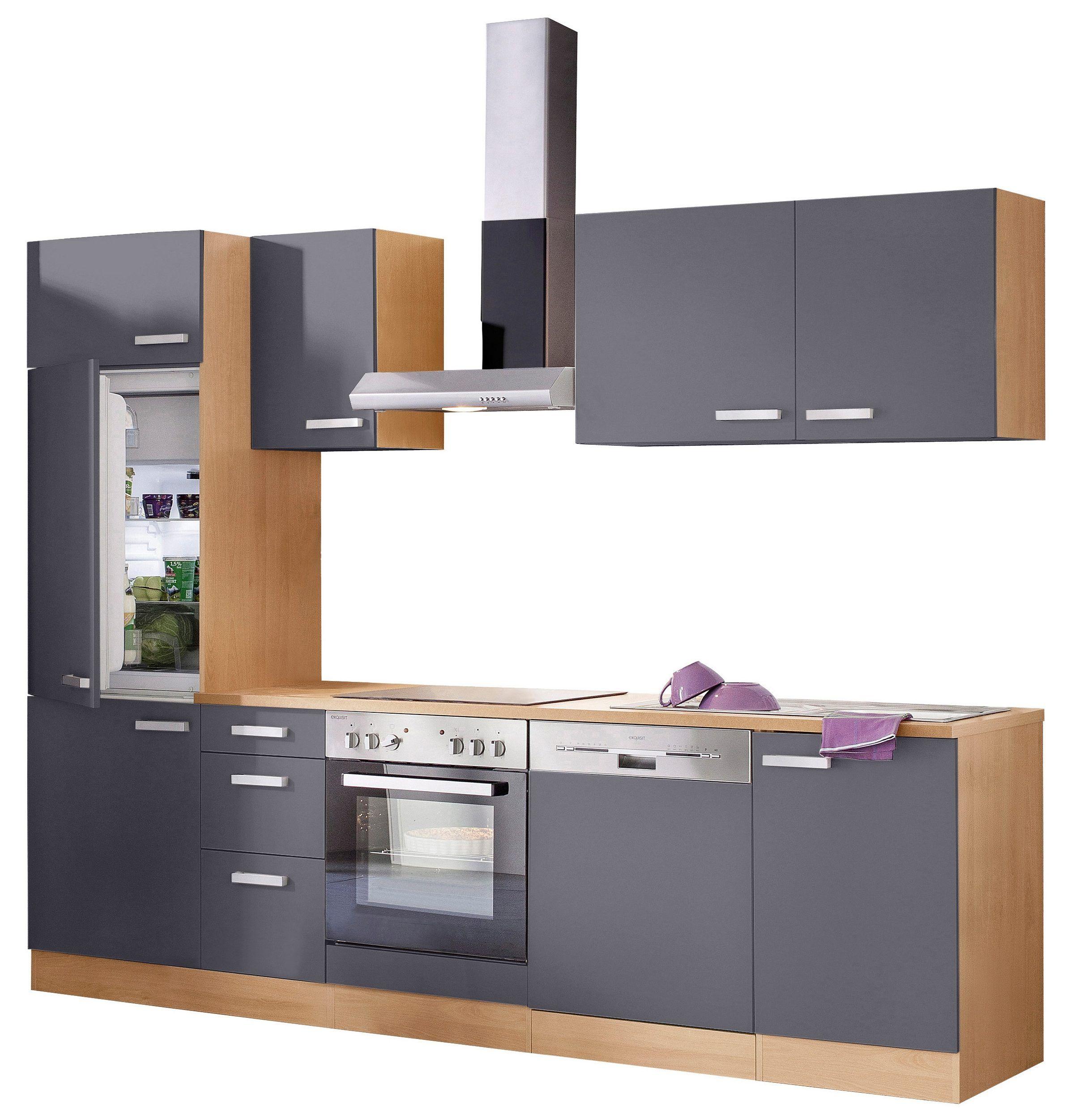 Optifit Kuchenzeile Kitchen Cabinet I Shape Held Kitchen Cabinets Condo Kitchen Kitchen