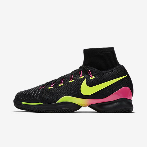 Nike Air Zoom Ultrafly HC QS Mens Tennis Shoes 9 Black Volt Pink 819692 006