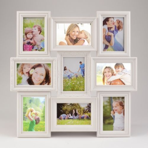 White 9-Opening Collage Frame | Wall decor, Walls and House
