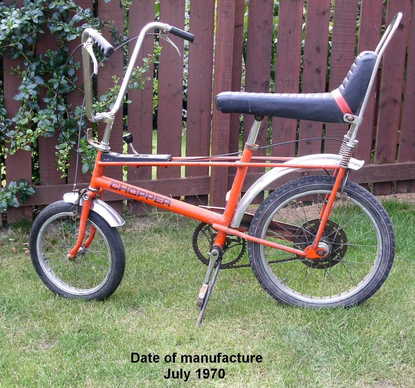 5 Speed Chopper Raleigh Bought This Bike To Ride But Steve
