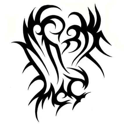 Tribal tattoo eagle designs