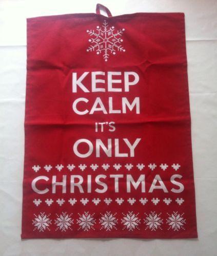 Geschirrtuch Keep-Calm-Christmas :D