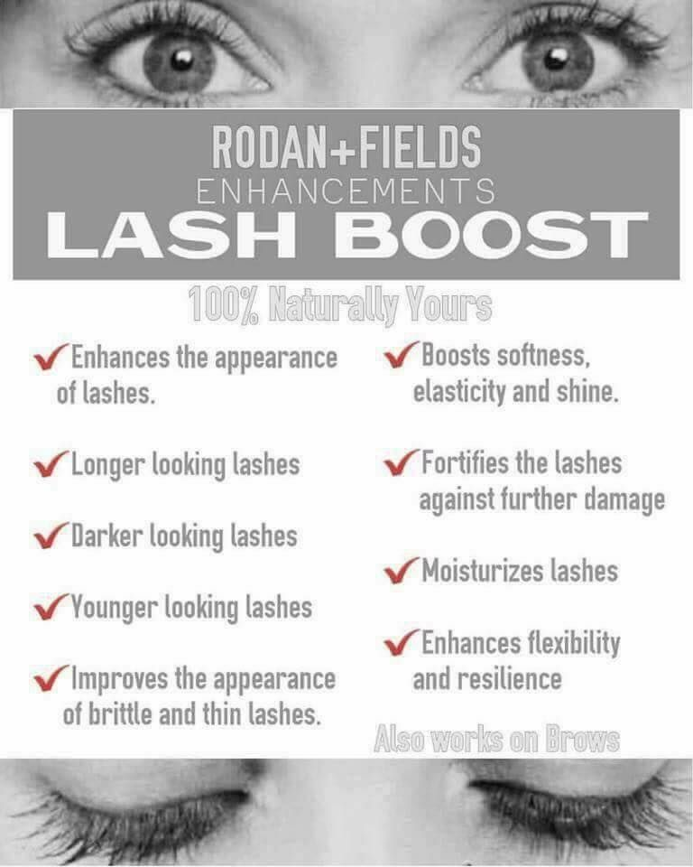 1b712de49e0 Rodan + Fields Lash Boost What's not to love?! Become a Preferred Customer  and get a FREE gift from me! Jwells21.myrandf.com Jenwells21@gmail.com