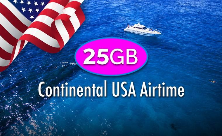Continental usa 25gb annual billing in 2020 yacht 4g