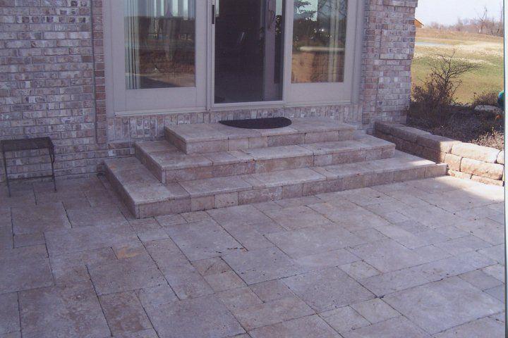 Patio Steps | Home Decor | Pinterest | Patio steps, Patios and Concrete