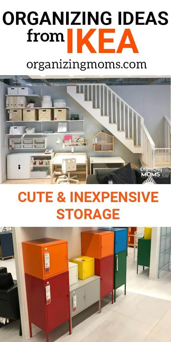 Smart Organizing Ideas From IKEA | Ikea organization, Home ...