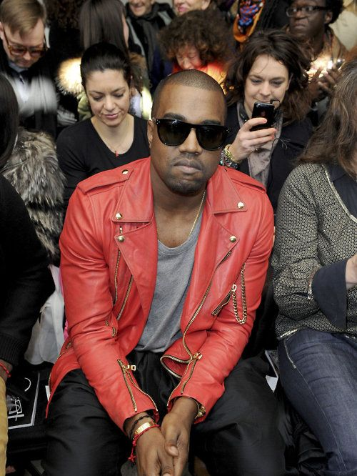 Kanyewest Leather Jacket Red Leather Jacket Men Red Jacket Leather