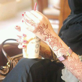 صور نقش حناء 2016 رمزيات خلفيات نقش حناء 2016 Henna Hand Tattoo Hand Tattoos Hand Henna