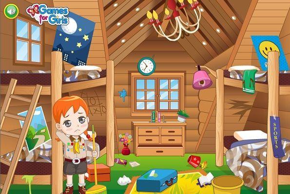 لعبة تنظيف المخيم الصيفي العاب بنات Character Family Guy