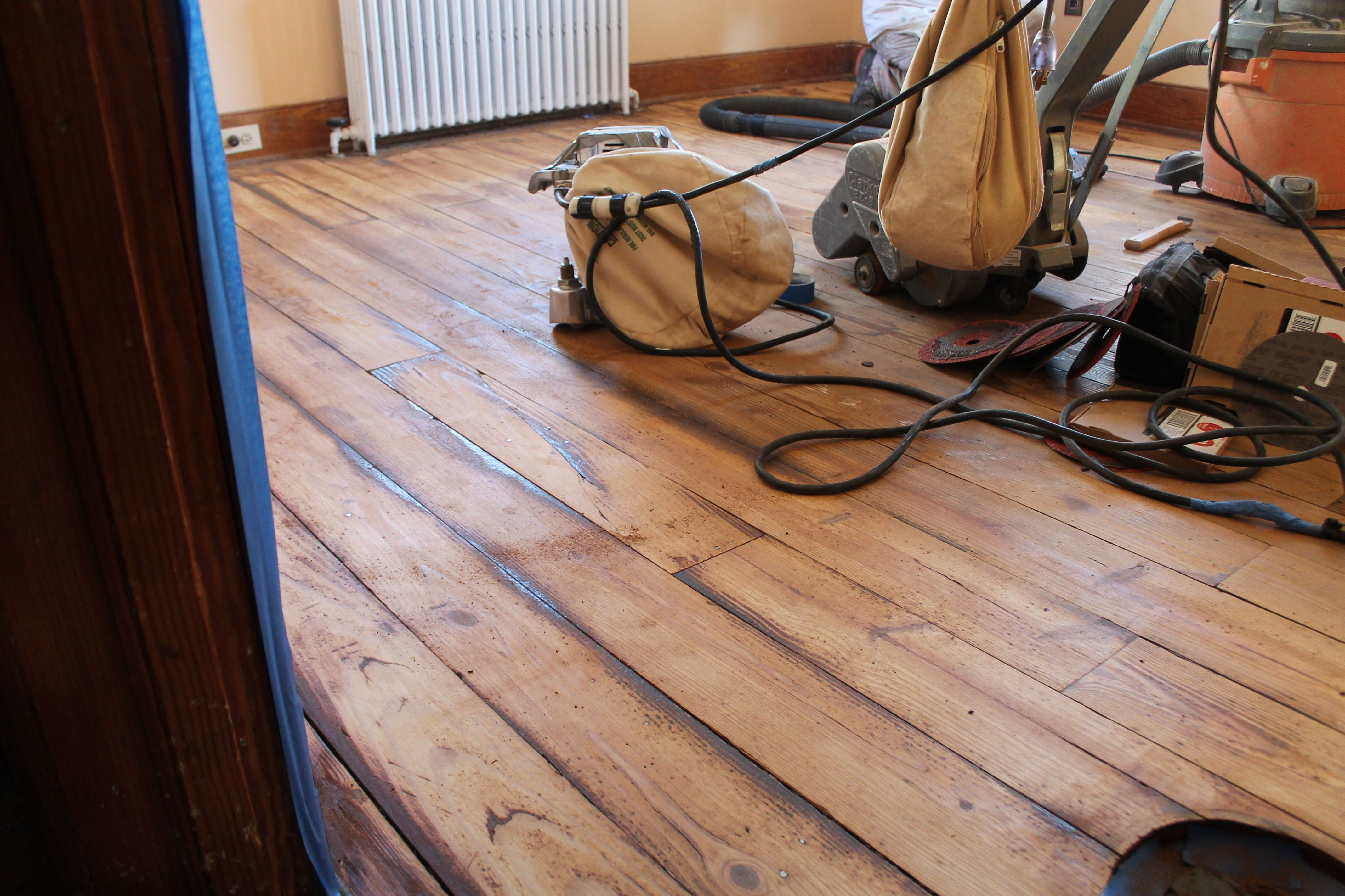 Finishing Wood Floors Without Sanding