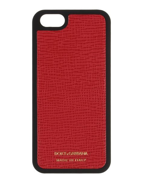 Cover per iPhone 5 Dolce e Gabbana in pelle  Iphone Dolce e gabbana