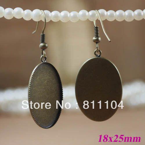 200pcs clip sur boucles d/'oreilles Boucle d/'oreille pièces Jewelry Making Findings Accessoires