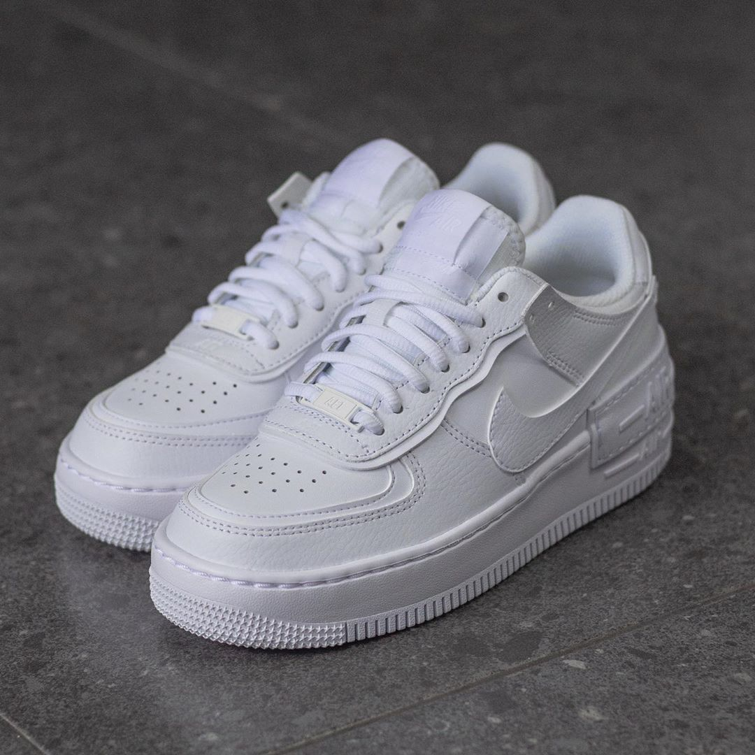 nike air force 1 donna shadow bianche