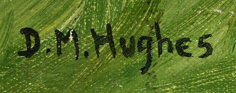Daisy Marguerite Hughes Signature Of Artist D M Hughes