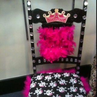 Fun Princess Chair