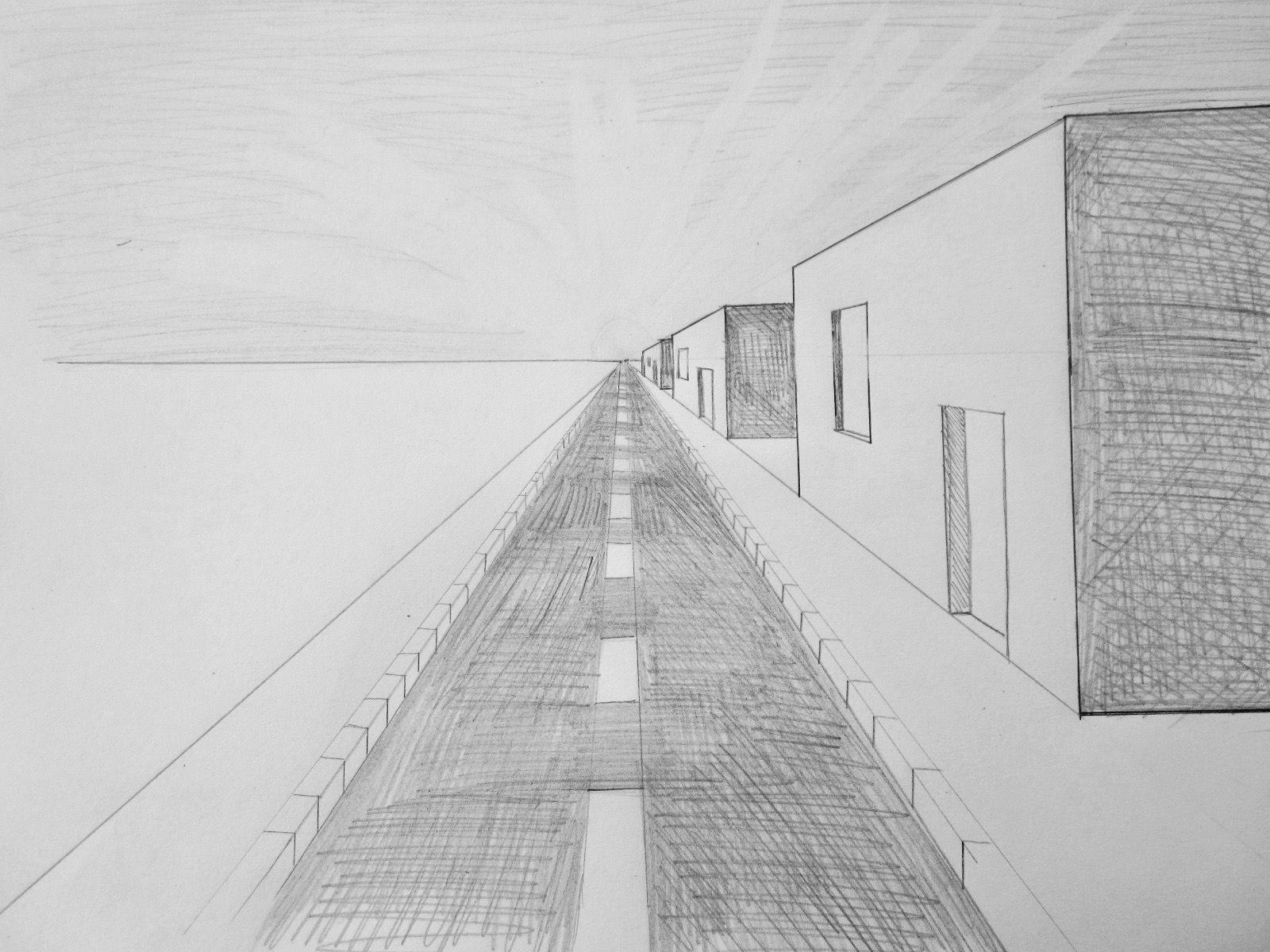 Perspektive Zeichnen StraГџe