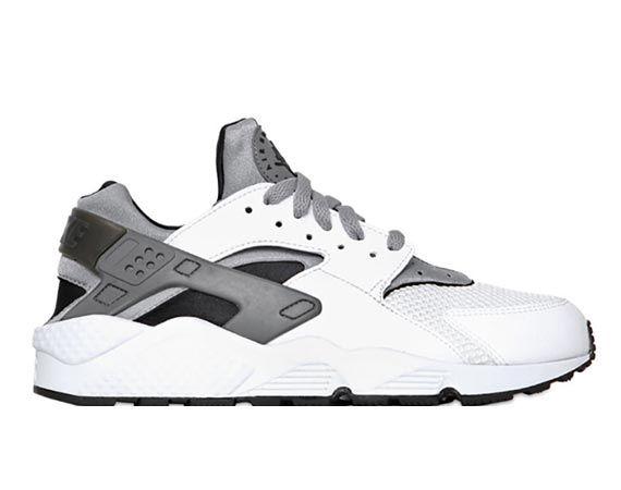 Nike Air Huarache - White/Metallic Silver/Black | Zapatillas ...