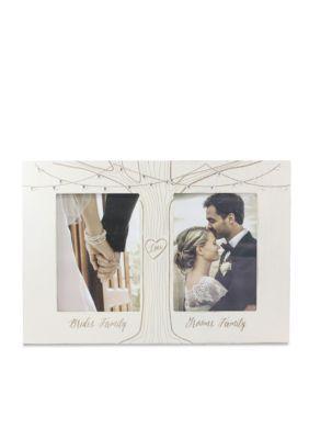 fetco home decor brides family grooms family double 5x7 frame - Double 5x7 Frame