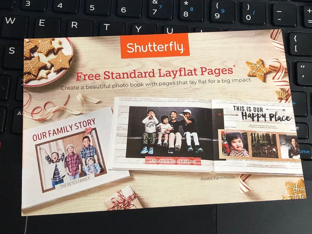 Shutterfly Coupon Layflat Photobook Pages Expires December 16 2018 Holiday Sales Photo Book Layflat