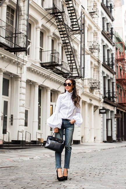 Pin By Ms Md On My Favorites Statement Blouse Chic