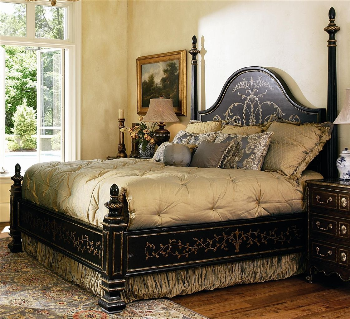 High End Master Bedroom Set. Manor Home Collection. Live