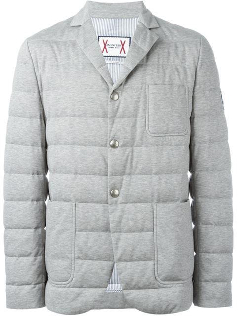 MONCLER GAMME BLEU padded blazer. #monclergammebleu #cloth #blazer